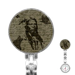 Indian Chief Stainless Steel Nurses Watch by Valentinaart