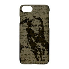 Indian Chief Apple Iphone 7 Hardshell Case by Valentinaart