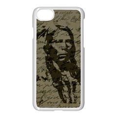 Indian Chief Apple Iphone 7 Seamless Case (white) by Valentinaart