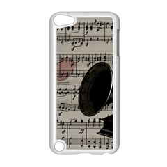 Vintage Music Design Apple Ipod Touch 5 Case (white) by Valentinaart