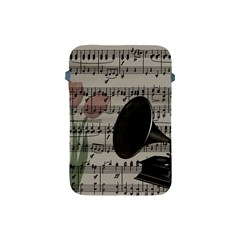 Vintage Music Design Apple Ipad Mini Protective Soft Cases by Valentinaart