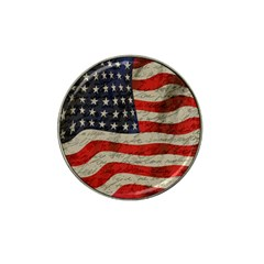Vintage American Flag Hat Clip Ball Marker (4 Pack) by Valentinaart