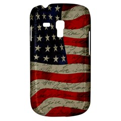 Vintage American Flag Galaxy S3 Mini by Valentinaart