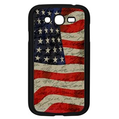 Vintage American Flag Samsung Galaxy Grand Duos I9082 Case (black) by Valentinaart