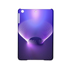 Abstract Fractal 3d Purple Artistic Pattern Line Ipad Mini 2 Hardshell Cases by Simbadda