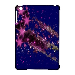 Stars Abstract Shine Spots Lines Apple Ipad Mini Hardshell Case (compatible With Smart Cover) by Simbadda