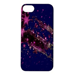 Stars Abstract Shine Spots Lines Apple Iphone 5s/ Se Hardshell Case