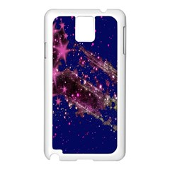Stars Abstract Shine Spots Lines Samsung Galaxy Note 3 N9005 Case (white)