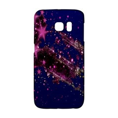 Stars Abstract Shine Spots Lines Galaxy S6 Edge