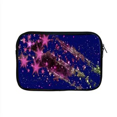 Stars Abstract Shine Spots Lines Apple Macbook Pro 15  Zipper Case by Simbadda