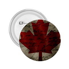 Canada Flag 2 25  Buttons by Valentinaart