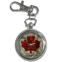 Canada Flag Key Chain Watches by Valentinaart