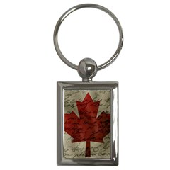 Canada Flag Key Chains (rectangle)  by Valentinaart