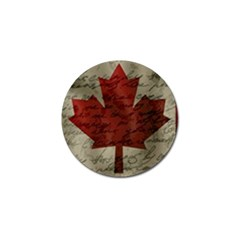 Canada Flag Golf Ball Marker (10 Pack) by Valentinaart