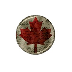 Canada Flag Hat Clip Ball Marker (10 Pack) by Valentinaart