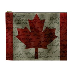 Canada Flag Cosmetic Bag (xl) by Valentinaart