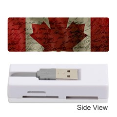 Canada Flag Memory Card Reader (stick)  by Valentinaart