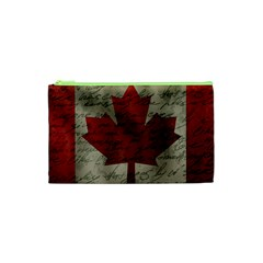 Canada Flag Cosmetic Bag (xs) by Valentinaart
