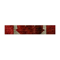 Canada Flag Flano Scarf (mini) by Valentinaart