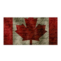 Canada Flag Satin Wrap by Valentinaart