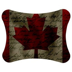Canada Flag Jigsaw Puzzle Photo Stand (bow) by Valentinaart
