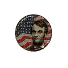 Lincoln Day  Hat Clip Ball Marker by Valentinaart