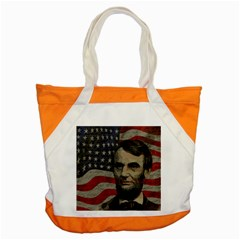 Lincoln Day  Accent Tote Bag by Valentinaart