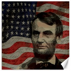 Lincoln Day  Canvas 16  X 16   by Valentinaart