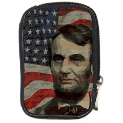 Lincoln Day  Compact Camera Cases by Valentinaart