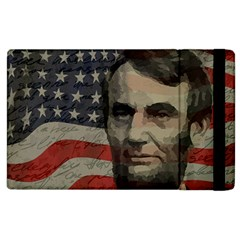 Lincoln Day  Apple Ipad 2 Flip Case by Valentinaart
