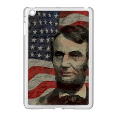 Lincoln Day  Apple Ipad Mini Case (white) by Valentinaart