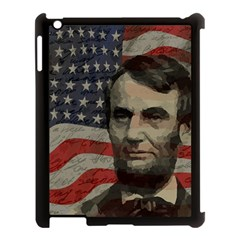 Lincoln Day  Apple Ipad 3/4 Case (black) by Valentinaart
