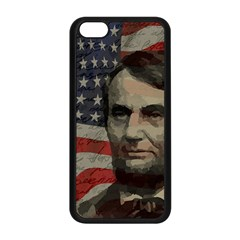 Lincoln Day  Apple Iphone 5c Seamless Case (black) by Valentinaart