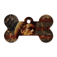 James Dean   Dog Tag Bone (two Sides) by Valentinaart