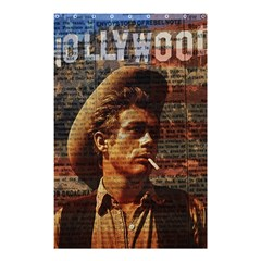James Dean   Shower Curtain 48  X 72  (small)  by Valentinaart