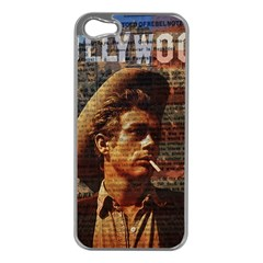 James Dean   Apple Iphone 5 Case (silver) by Valentinaart
