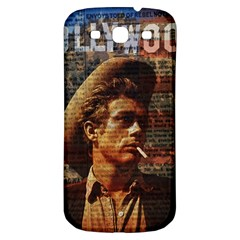 James Dean   Samsung Galaxy S3 S Iii Classic Hardshell Back Case by Valentinaart
