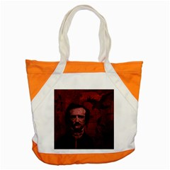 Edgar Allan Poe  Accent Tote Bag by Valentinaart