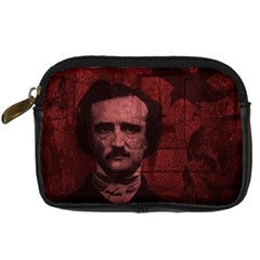 Edgar Allan Poe  Digital Camera Cases by Valentinaart