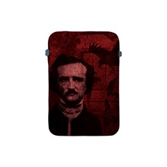 Edgar Allan Poe  Apple Ipad Mini Protective Soft Cases by Valentinaart