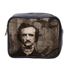 Edgar Allan Poe  Mini Toiletries Bag 2 Side by Valentinaart