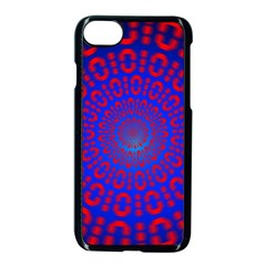 Binary Code Optical Illusion Rotation Apple Iphone 7 Seamless Case (black)