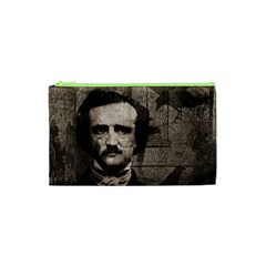 Edgar Allan Poe  Cosmetic Bag (xs) by Valentinaart