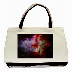 David Bowie  Basic Tote Bag (two Sides) by Valentinaart