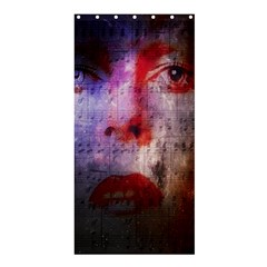 David Bowie  Shower Curtain 36  X 72  (stall)  by Valentinaart