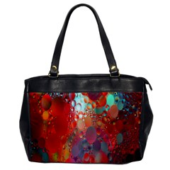 Texture Spots Circles Office Handbags by Simbadda
