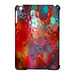 Texture Spots Circles Apple Ipad Mini Hardshell Case (compatible With Smart Cover) by Simbadda