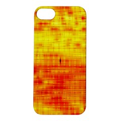 Bright Background Orange Yellow Apple Iphone 5s/ Se Hardshell Case