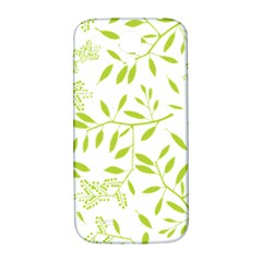 Leaves Pattern Seamless Samsung Galaxy S4 I9500/i9505  Hardshell Back Case