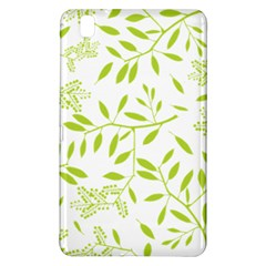 Leaves Pattern Seamless Samsung Galaxy Tab Pro 8 4 Hardshell Case